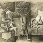 The room of torture/El salon de las torturas, Ink 20x13 inches