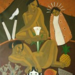 (2009) Acrylic on canvas 30x36 inches - Private collection, Canada
