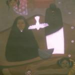 Widows/Viudas, Acrylic on canvas 30x36 inches - Private collection, Denmark