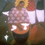 Evocation/Evocación, Acrylic on canvas 30x36 inches - Private collection