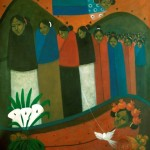 Widows/Viudas, Acrylic on canvas 30x36 inches - Private collection, Japan