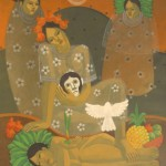 Evocation/Evocación, Acrylic on canvas 30x36 inches - Private collection, Guatemala