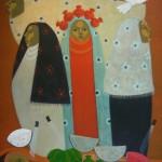 Summer dream/Sueño de verano (2010) Acrylic on canvas 30x36 inches - Available