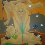 Ode to life/Oda a la vida (2010) Acrylic on canvas - Available